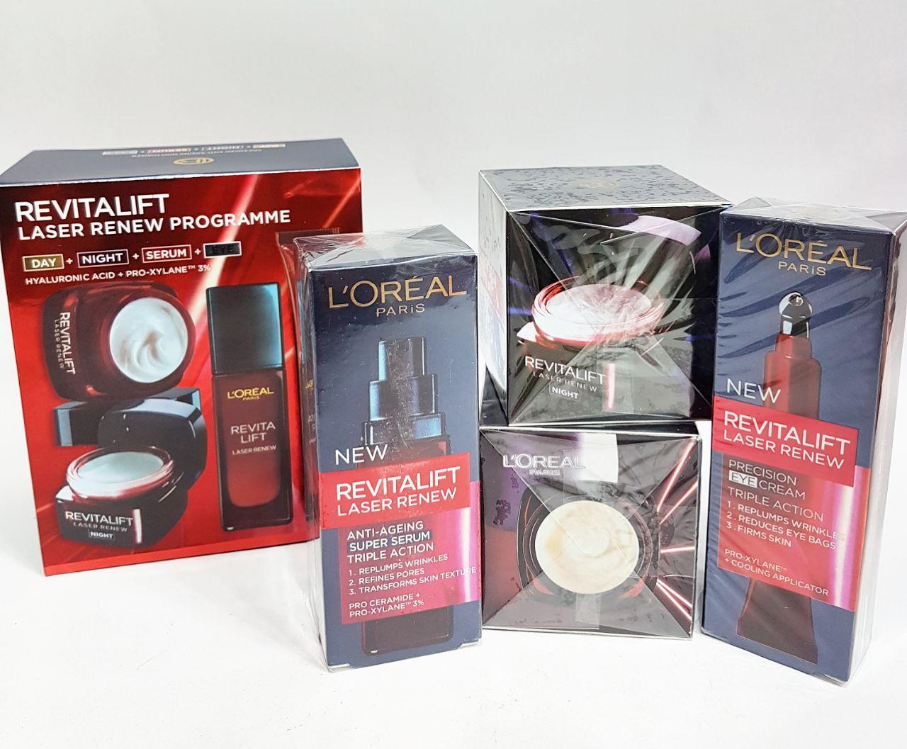 پک زیبایی لورال___Revitalift laser renev programme Loreal