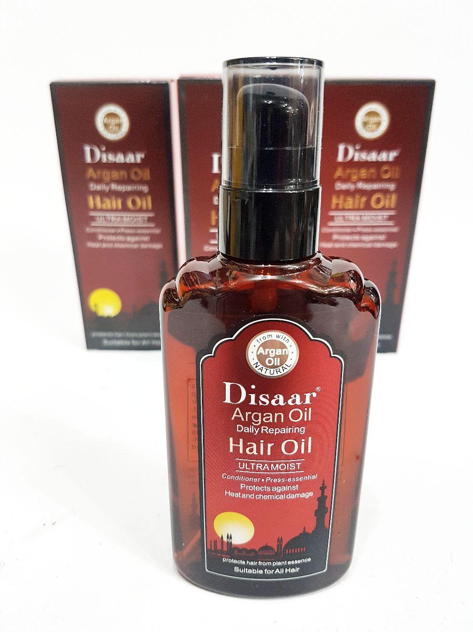 روغن آرگان اصل__Disaar argan oil daily repairing _ Hair oil ultramoist