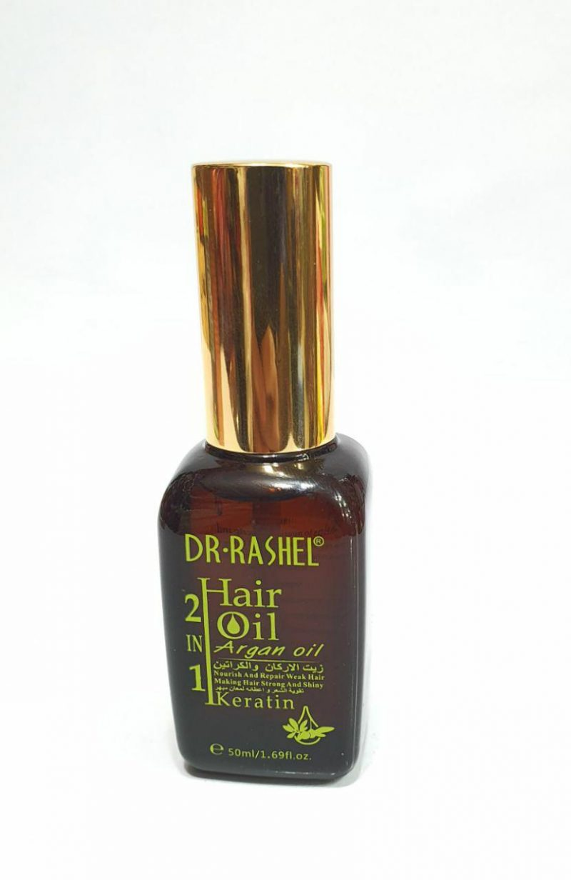 ☀️روغن آرگان دکتر راشل dr.rashel hair argan oil with keratin