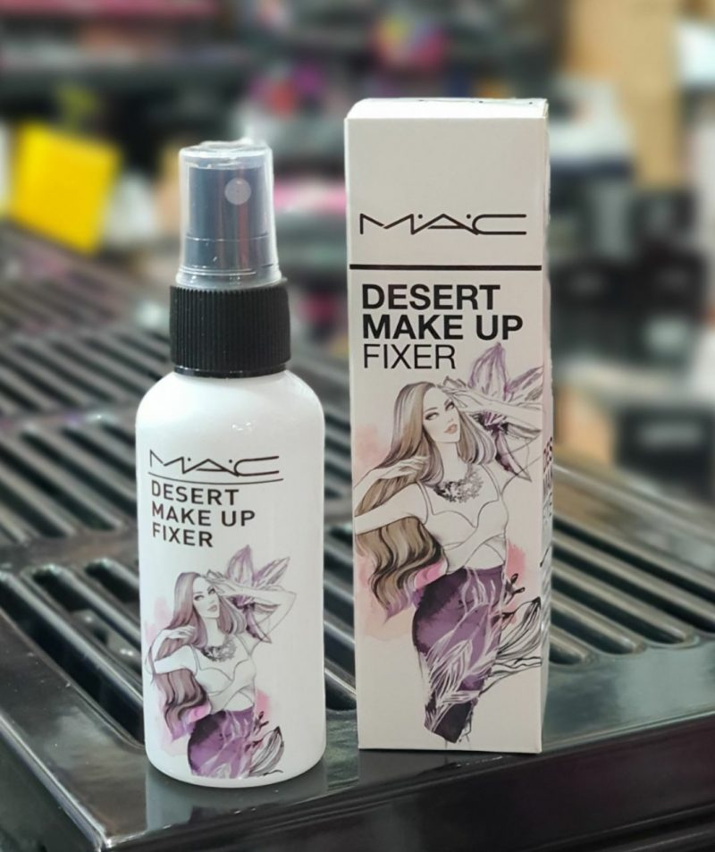 mac desert make up fixer