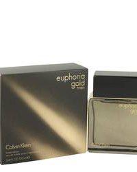 ادکلن کلوین کلین مدل Euphoria Gold men حجم 100 مل