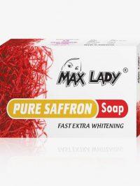 صابون زعفران مکس لیدی Maxlady حجم 75 گرم