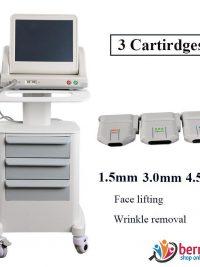 دستگاه هایفو اولترا لیفتینگ پوست صورت و بدن سه کاتریج Haifu Ultra