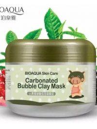 کلِی ماسک کربنی حبابی برند بیو اکوا (Carbonated bubble clay mask)